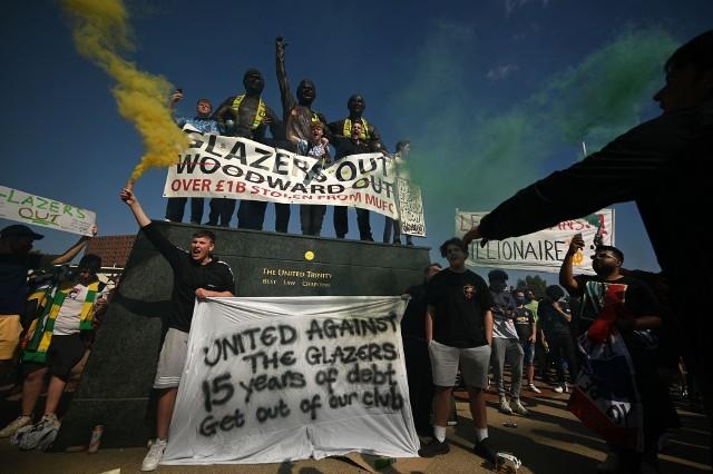 Fiasko Superligi wystawia na rynek kluby. Rodzina Glazerów ustaliła cenę za Manchester United
