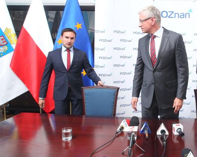 Tomasz Lewandowski oficjalnie jeszcze nie rzucił rękawicy prezydentowi Poznania Jackowi Jaśkowiakowi