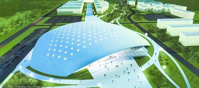 Tak miała wyglądać duża hala widowiskowo-sportowa w Białymstoku