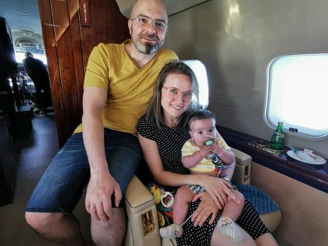 Filip wraz z rodzicami doleciał już do Stanów Zjednoczonych, gdzie czeka na operację.