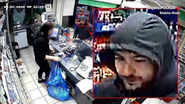 Bielsko-Biała: jest nagroda za pomoc w znalezieniu sprawcy napadu na sklep