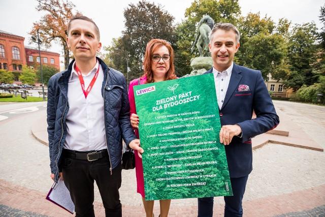 Lewica obiecuje między innymi, że w ramach walki o czyste powietrze sfinansuje w Bydgoszczy wymianę 24 tysięcy pieców
