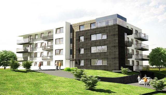 Tak będzie wyglądał Dom na Skałce w Kielcach na osiedlu Ślichowice II