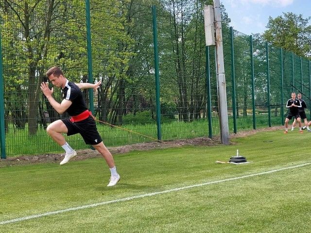 GKS Bełchatów trenuje