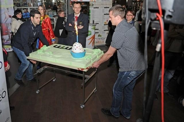 Tort na Urodziny Galerii MM