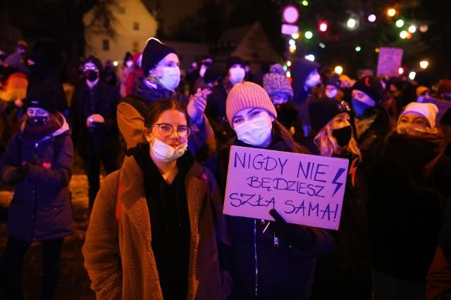 Strajk Kobiet ponownie wyszedł na ulice Krakowa