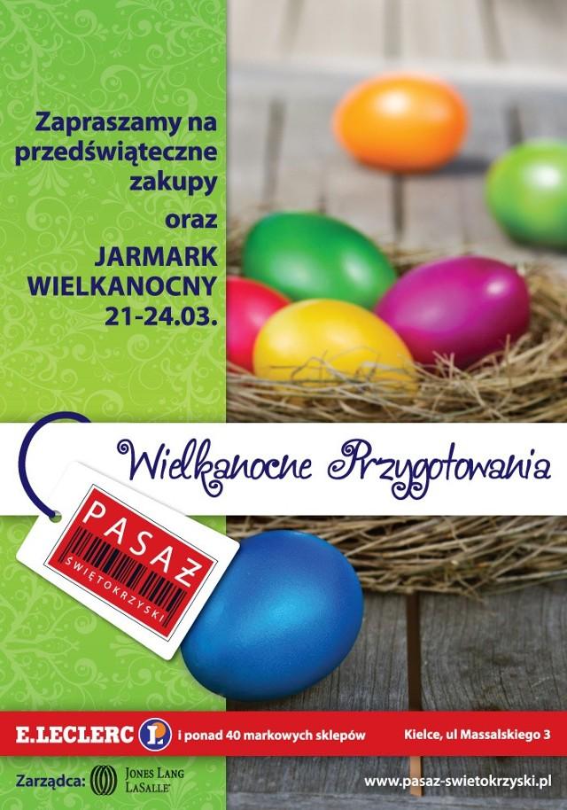 Jarmark Wielkanocny w Pasażu Świętokrzyskim