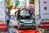 Załoga Samasz Rally Team na pudle w klasie Open N w Rajdowych Samochodowych Mistrzostwach Polski