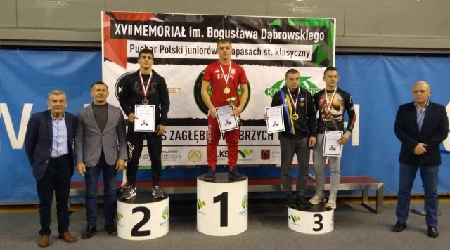 Arslanbek Salimov na drugim miejscu Pucharu Polski juniorów