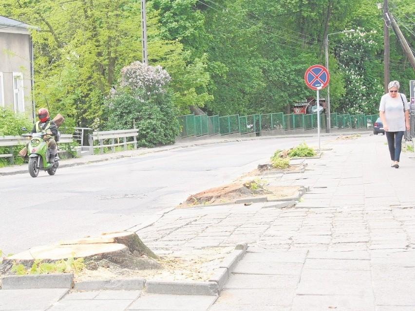 Wycięto już drzewa przy ul. Toruńskiej, które kolidowałyby z inwestycją drogową.