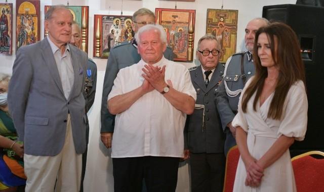Podczas spotkania wręczono Medale Prezydenta Miasta Radomia dla księdza Stanisława Drąga oraz redaktora, Andrzeja Mędrzyckiego.