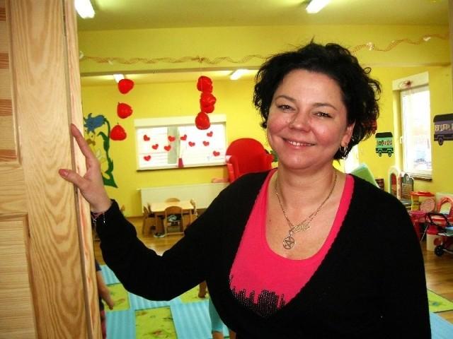 Luiza Groszek prowadzi przedszkole w Żarach.