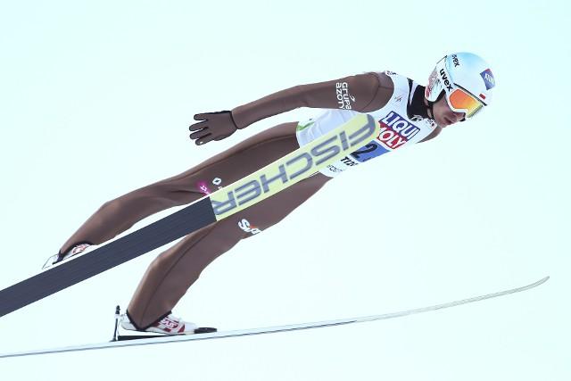 Kamil Stoch w kwalifikacjach pokazał olimpijską formę