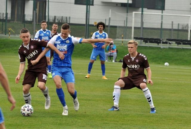 24.10.2020, Kraków, mecz II ligi: Garbarnia - Hutnik (2:1)