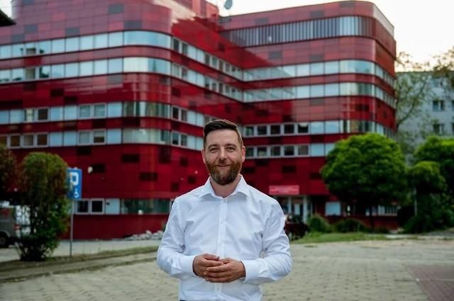 Michał Fita jest jednym z pięciu kandydatów na prezydenta Raciborza