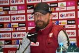 Reprezentacja Polski do 21 lat w Kielcach gra z San Marino. Trener Maciej Stolarczyk mówił o sytuacji kadrowej i Danielu Szelągowskim