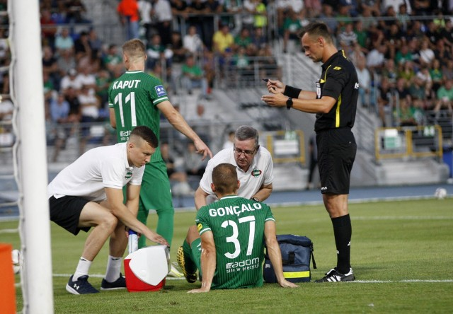 Goncalo Silva doznał kontuzji w sobotnim meczu z Legią