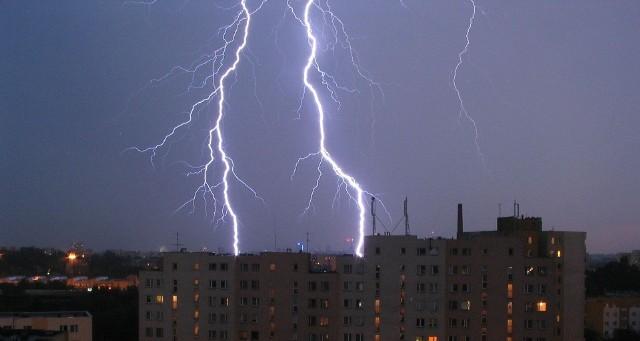 IMGW ostrzega: Na Śląsku będą burze i silny wiatr