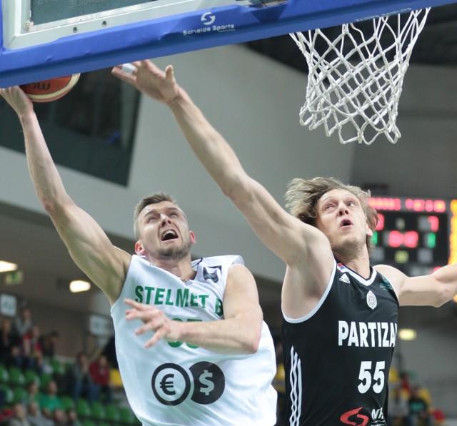 Uros Luković zatrzymał Przemysława Zamojskiego, a Partizan Stelmet. Ta porażka może sporo kosztować...