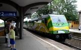 Słoneczny pociąg przyjechał do Wejherowa [WIDEO]