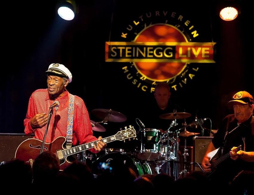 Chuck Berry...