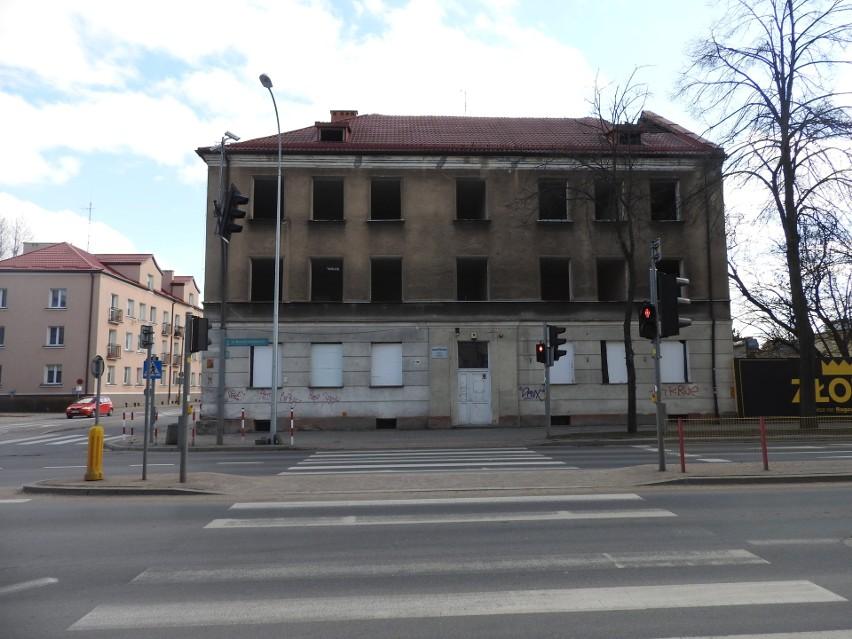 Tak dziś wygląda kamienica przy Sienkiewicza 86. Powoli...