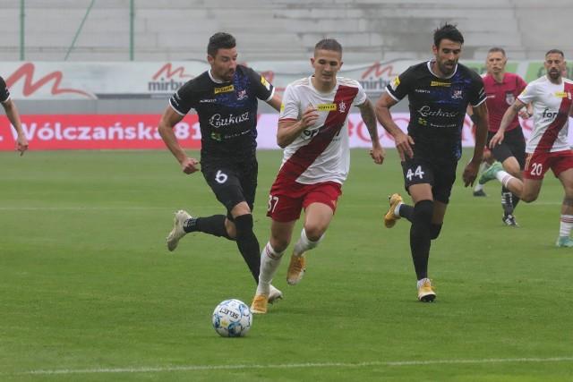 ŁKS Łódź gra z Cracovią