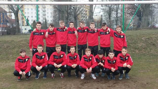 Młodzi gwardziści, rocznik 2000, pokonali Football Academy Szczecin 2:1.