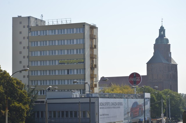 Przemysłówka to wieżowiec w samym centrum miasta