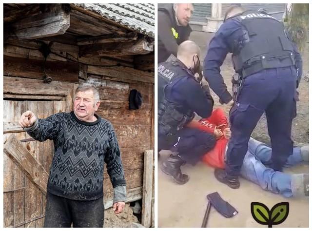 Gienek został zatrzymany przez policję za znieważenie policjanta na służbie