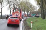 Wypadek w Kobierzycach. Droga w stronę Kudowy zablokowana