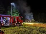 Gorczenica. Zakład produkcyjny uratowano dzięki policjantowi, który dostrzegł pożar