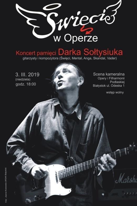 Koncert odbędzie się w niedzielę (3 marca) o godz. 18 na scenie kameralnej Opery i Filharmonii Podlaskiej przy ul. Odeskiej 1.