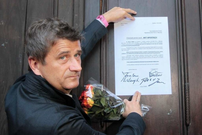 Janusz Palikot wrócił do biznesu i na razie nie zamierza włączać się w działalność polityczną