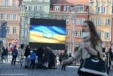 Solidarni z Ukrainą. Happening na wrocławskim Rynku (ZDJĘCIA)