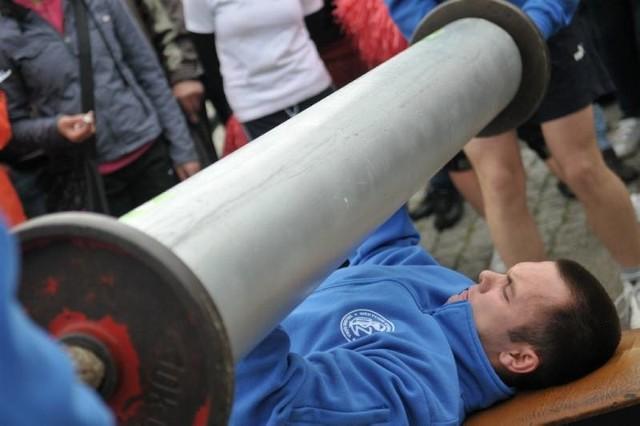 Miedzyszkolne zawody strongman