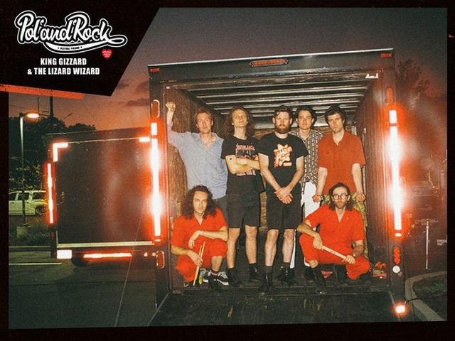 King Gizzard & The Lizard Wizard zagrają na Pol'and'Rock Festiwalu 2020.