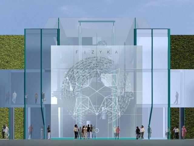 Białostockie uczelnie stają się także coraz nowocześniejsze. Na wizualizacji wydział fizyki UwB.
