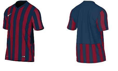 Tak wyglądają koszulki, w jakich Pogoń będzie występować od wiosny 2015 r.