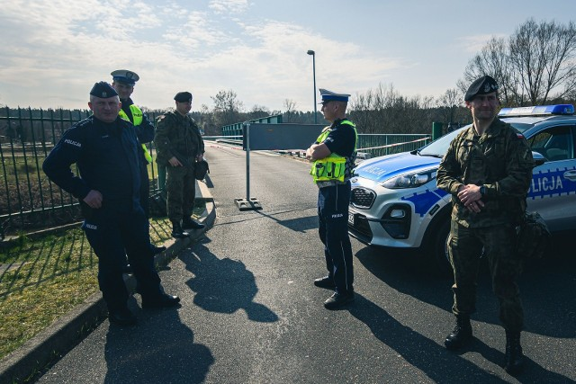 Żołnierze pomogą swoim kolegom ze Straży Granicznej.