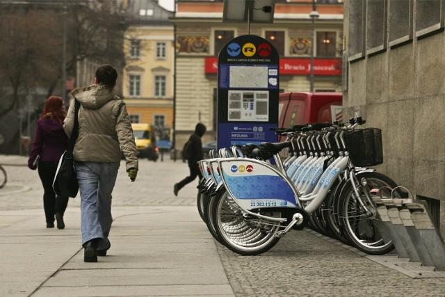 Wrocławski Rower Miejski - wypożyczalnia jednośladów na wrocławskim Rynku