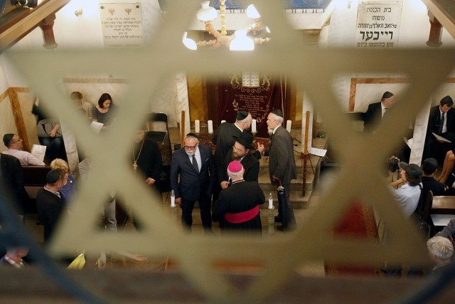 Synagoga przy ul. Rewolucji w Łodzi. Zobacz też inne kościoły od środka TUTAJ