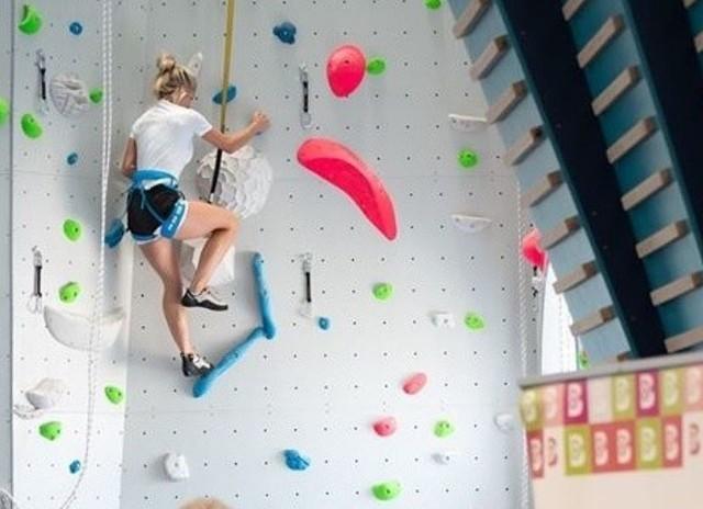 Centrum Wspinaczkowe Adrenalina w BieruniuZobacz kolejne zdjęcia. Przesuwaj zdjęcia w prawo - naciśnij strzałkę lub przycisk NASTĘPNE