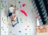 Centrum Wspinaczkowe Adrenalina w Bieruniu  na Osiedlu Homera już działa