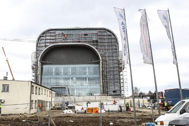 Trwa budowa spalarni śmieci w Rzeszowie.