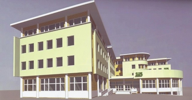 Za dwa lata mieszkańcy prawobrzeża korzystać będą z nowego budynku ZUS.