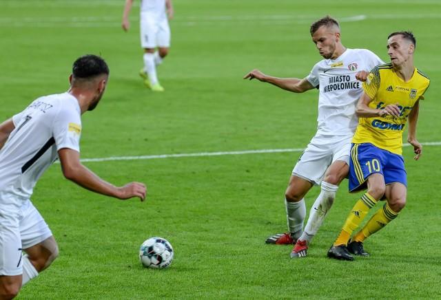 Jakub Bartosz strzelił trzy gole w dwóch ostatnich meczach Puszczy