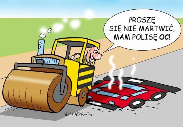 W razie wypadku czy kolizji poszkodowani sami będą musieli pokrywać szkody i koszty leczenia, twierdzi Polska Izba Ubezpieczeń.