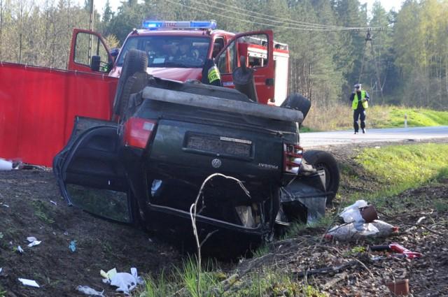 Smiertelny wypadek koło Hopowa