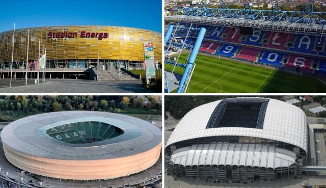 Średnia pojemność stadionów w PKO Ekstraklasie wynosi 21 848 miejsc. Na tak wysoki wynik pracują m.in. 3 stadiony zbudowane z okazji Euro 2012, natomiast zdecydowanie poniżej średniej są obiekty beniaminków. Zobacz WSZYSTKIE stadiony w PKO Ekstraklasie - od najmniejszego do największego.